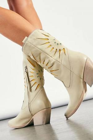 "Bohemian Western Boots ""Supernova"""