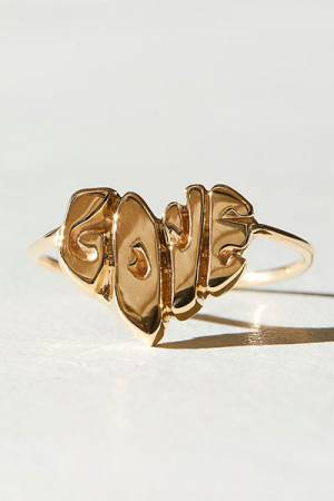 "Elisa Soloman Love Ring ""14k Heart"""