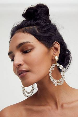 "Oversize Hoop Earrings ""Now Or Never"""
