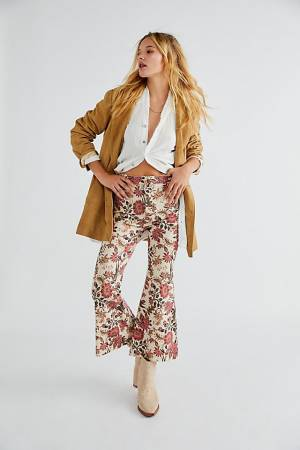 """Free People Crop Flare Jeans """"Youthquake"""""""