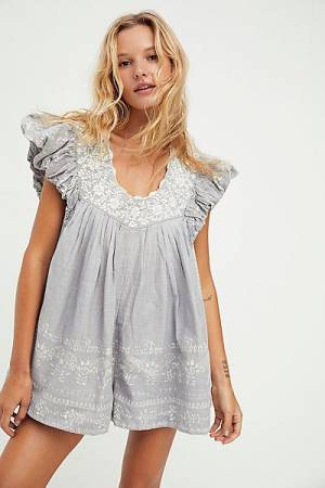 "Free People Romper ""Cutie Pie"""
