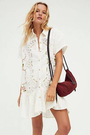 "Free People Mini Dress ""Sweet Tea"""