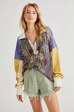 "Free People Top ""Surf Safari"""