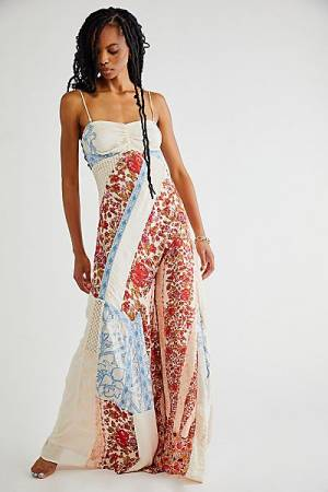 """Free People Jumpsuit """"Gianna Patchwork"""""""