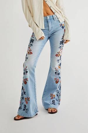 "Driftwood Flare Jeans ""Daylight Farrah"""