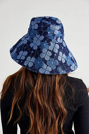 """Free People Bucket Hat """"Floral Molly"""""""
