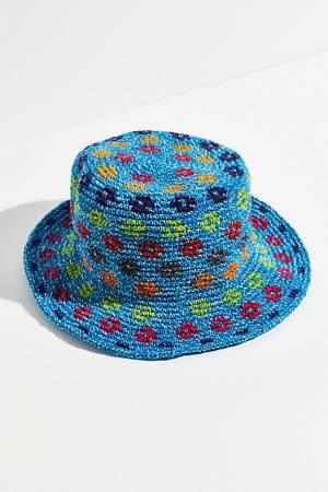 """Kamino Katalina Crochet Bucket Hat """"Daisy"""""""