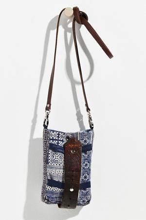 "Tricia Fix Denim Bag ""Indigo Mini Crossbody"""