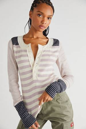 """Free People Top """"Give Me Stripes Tee"""""""