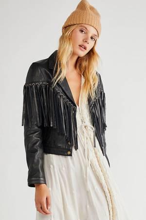 """Understated Leather Jacket """"Motive"""""""