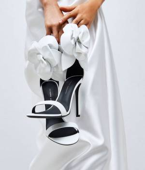 "Giuseppe Zanotti Sandals ""Siuxsie Bridal Shoes"""