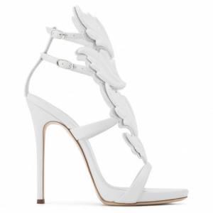 """Giuseppe Zanotti Women's Sandals """"CRUEL"""" White"""