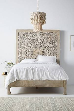 "Handcarved Lombok Bed ""Boho Furniture"""
