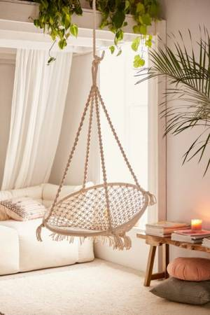 Meadow Macrame Hanging Chair
