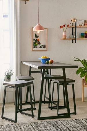 "Minimalist Counter Dinning Table Set ""Sydney"""