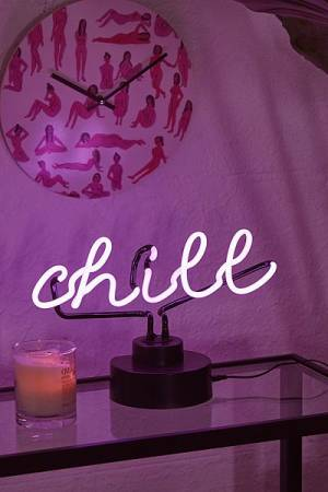 Chill Neon Sign Table Lamp