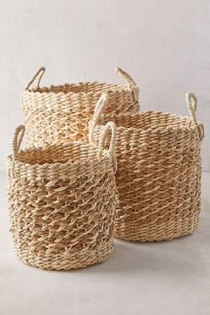 """Woven Basket Set """"Aimee"""""""