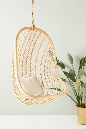 Teak Nest Hanging Chair