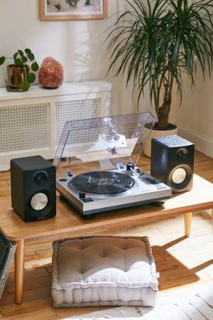 Crosley K100 Record Player + Speakers