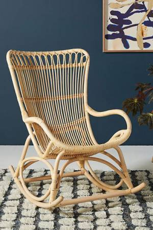 "Rattan Rocking Chair ""Sika Monet"""