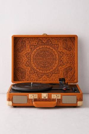 "Crosley Cruiser Bluetooth Record Player ""Debossed Medallion"""