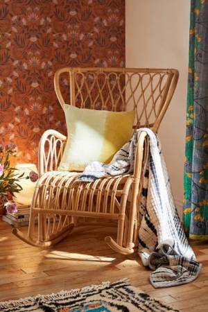"Rattan Rocking Chair ""Elise"""