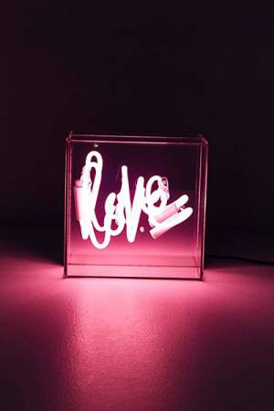 Love Neon Sign Lightbox