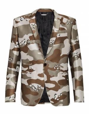 """Philipp Plein Men's Blazer Jacket """"Camouflage"""""""