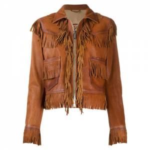 Dsquared2 Women's Fringed Leather Jacket