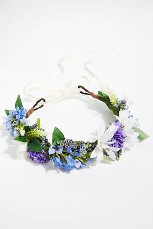 """Rock N Rose Flower Crown """"Cambridge Meadow"""" Boho"""