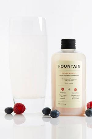 Fountain The Hair Molecule Vegan Beauty Supplement