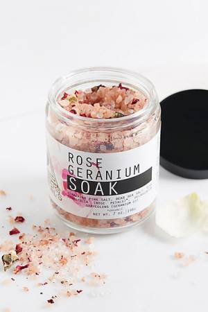 "Moon Rivers Naturals Bath Soak ""Rose & Geranium"""