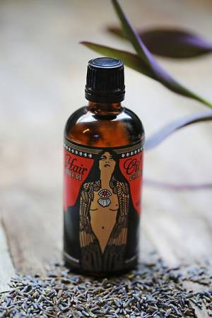 Lulu Organics Natural Lavender + Clary Sage Hair Oil