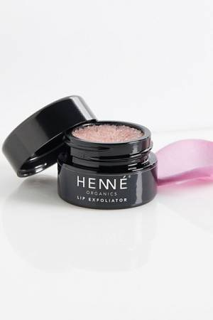 Henné Organics Rose Lip Exfoliator
