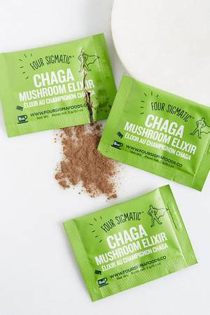 Four Sigmatic Chaga Mushroom Superfood Supplement