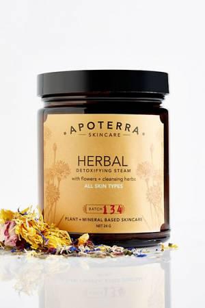 Apoterra Skincare Herbal Detoxifying Steam