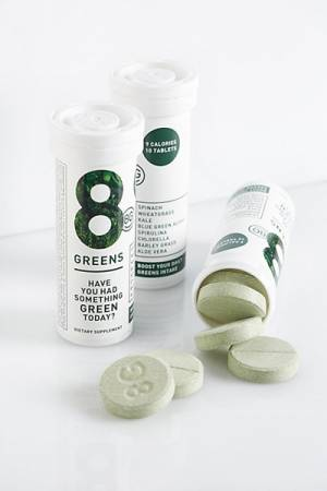 8G 8 Greens Vitamins and Minerals Dissolving Tablets Supplement