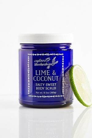 "Captain Blankenship Organic Body Scrub ""Lime & Coconut"""