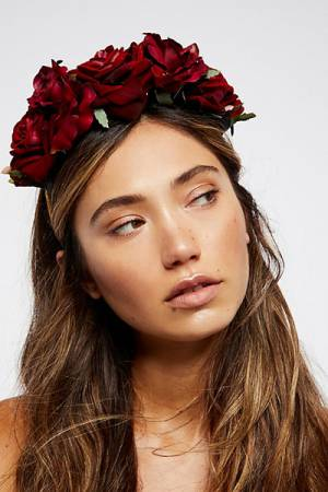 Boho Festival Flower Crowns & Hair Accessories