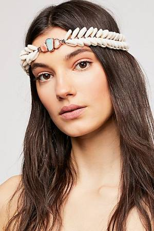 Ouroboros Shell Halo Headpiece