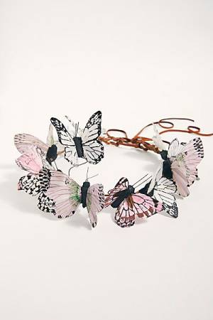Butterflies Crown Headpiece
