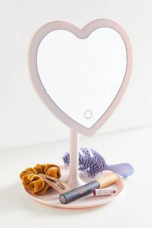 "Makeup Vanity Mirror ""LED Heartbeat"""