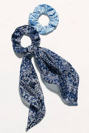 "Free People Scarf Pony + Scrunchie ""Rhapsody"""