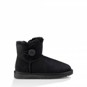 UGG Women's Mini Bailey Button II Boot Sheepskin