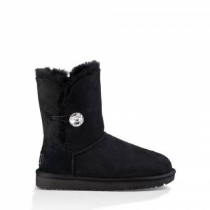 UGG Women's Bailey Button Bling Boot Sheepskin