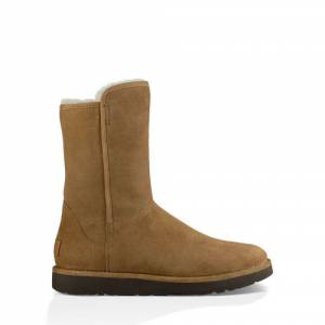 UGG Women's Abree II Short Suede Sheepskin Boots