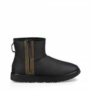 UGG Men's Classic Mini Zip Waterproof Boot Suede