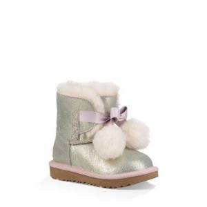 UGG Toddlers' Gita Metallic Boot Leather