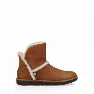 UGG Women's Luxe Spill Seam Mini Boot Suede