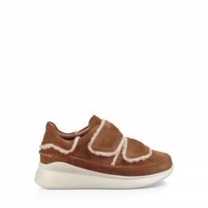 UGG Women's Ashby Spill Seam Sneaker Suede